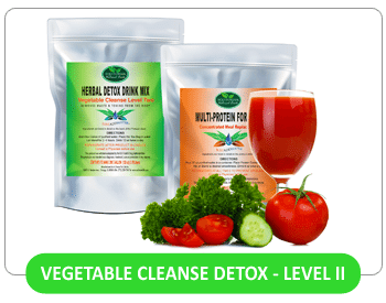 Vegetable Cleanse Detox - Level II