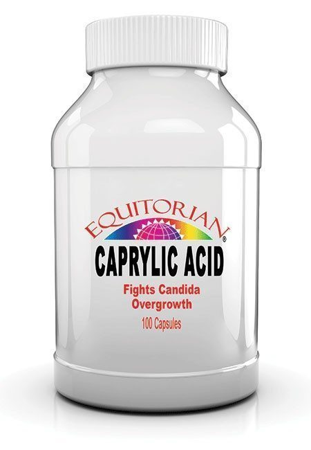 How much caprylic acid to take for candida
