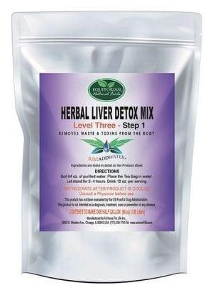 Level 3 Step 1 Herbal Liver Detox Mix