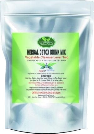 Herbal Detox Drink Mix Level 2