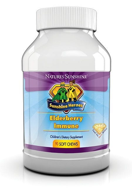 Child Elderberry Immune System Chew